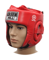 Шлем боксерский Five Star Combat Sambo Green Hill